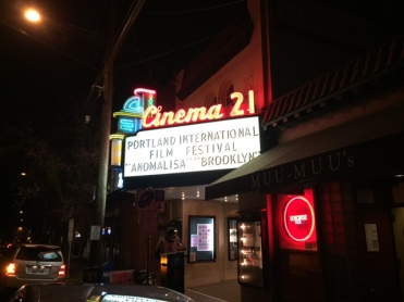 Cinema 21 in Northwest Portland was one of three venues where I volunteered this year.