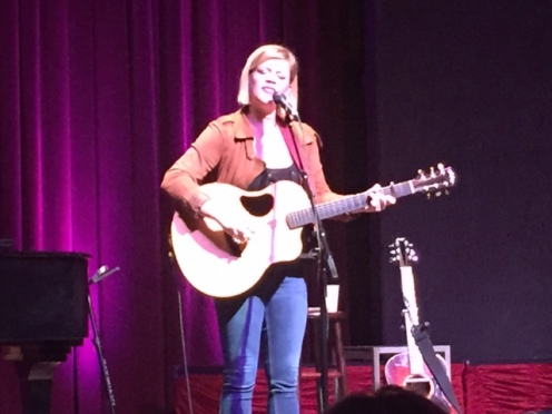 Liz Longley performs Nov. 29, 2016, at the Alberta Rose Theater in Portland, Oregon.