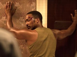 Anthony Mackie portrays one of several men and women brutalized by Detroit cops.
