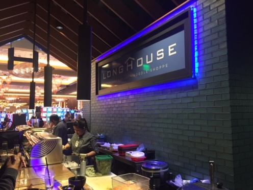 Longhouse serves sushi, noodles and a variety of other sumptuous Japanese dishes.